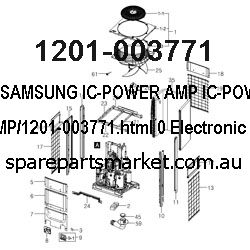 1201-003771-IC-POWER AMP