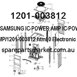 1201-003812-IC-POWER AMP