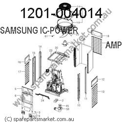 1201-004014-IC-POWER AMP