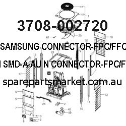 3708-002720-CONNECTOR-FPC/FFC/PIC;23P,1MM,SMD-A,AU,N