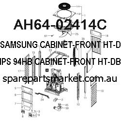 AH64-02414C-CABINET-FRONT;HT-DB600/EXP,HIPS 94HB,-,-