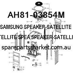 AH81-03854M-SPEAKER-SATELLITE;PS-Z310,SATELLITE SPEA