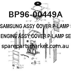 BP96-00449A-ASSY COVER P-LAMP;SERVICE,,,,,VE ENGINE