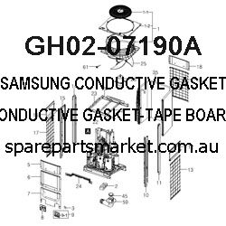 GH02-07190A-CONDUCTIVE GASKET-TAPE BOARD