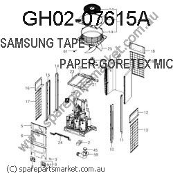 GH02-07615A-TAPE DOUBLE FACE-RCV WP