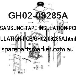 GH02-09285A-TAPE INSULATION-PCB