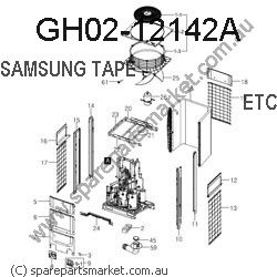 GH02-12142A-TAPE DOUBLE FACE-BATTERY CELL