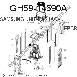 GH59-14590A-UNIT-TOUCH KEY FPCB(SM-J320F)