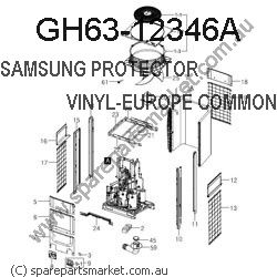 GH63-12346A-PROTECTOR VINYL-BACK FOR SHIPMENT_COMMON