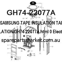 GH74-22077A-TAPE INSULATION