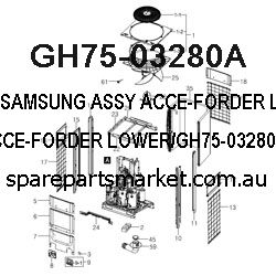GH75-03280A-ASSY ACCE-FORDER LOWER