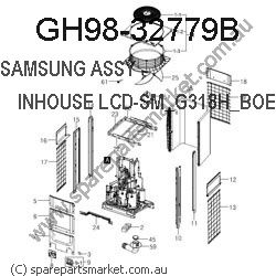 GH98-32779B-ASSY COVER-BATTERY