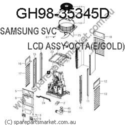 GH98-35345D-ASSY KEY-HOME(ZD)_V3